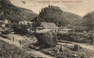 Kislovodsk, Castle (kis szakadás / small tear)