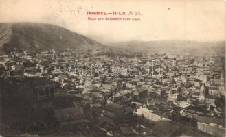 Tbilisi, Tiflis; General view (kopott sarok / worn corner)