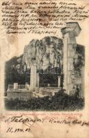 Oreanda (Crimea); Ruines de palais / palace ruins (EK)