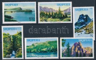 Albanian landscapes set, Albán tájak sor