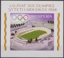1968 Olimpia blokk Mi 33 B