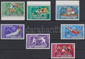 1971 Nyári olimpia sor Mi 1499-1505