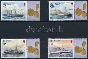 2010 Postahajó 4 db szelvényes érték Mi 1482, 1484-1486