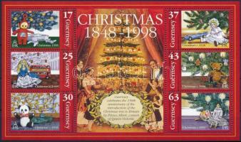 1998 Karácsony blokk Mi 22