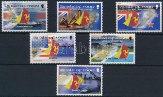2000 Világkörüli vitorlázás sor Mi 883-888