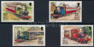 1988 Forgalmi: Villamos és vasút sor Mi 381-384 I