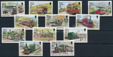 1988 Forgalmi: Villamos és vasút sor 351-362 I