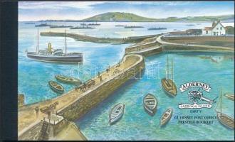 2001 Alderney történelmi fejlődése bélyegfüzet MH 4 (Mi 179-186)