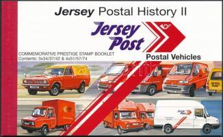 2006 Postatörténet (II): postai járművek bélyegfüzet MH 19 (Mi 1255-1260)