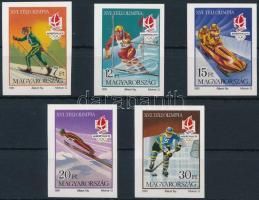 1991 Téli olimpia (IX.) - Albertville vágott sor (5.000)