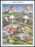 1996 Gombák kisív Mi 1480-1487