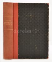 Augustino Lehmkuhl: Compendium Theologiae Moralis. Freiburg, 1886, Herder. Átkötött picit kopott félvászon kötés, latin nyelven. / Half-linen-binding, in latin language.