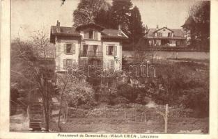 Lausanne, Pensionnat de Demoiselles Villa Erica / girls boarding school
