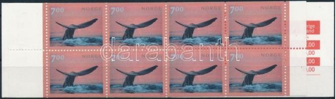 2000 Bálna bélyegfüzet Mi 1348
