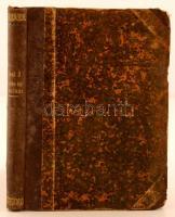 Dr. Badics Ferenc: Gaál József élete és munkái. Budapest, 1881, Aigner Lajos. Átkötött félvászon kötés, kopottas, viseltes borítóval, foltos.