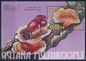 Nemzetközi bélyegkiállítás, London: gomba és béka, International Stamp Exhibition, London: Mushrooms