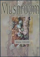Mushroom imperf block, Gomba vágott blokk