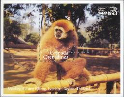 ternational Stamp Exhibition, Bangkok: Monkey block, Nemzetközi bélyegkiállítás, Bangkok: majom blokk