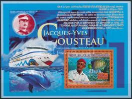 Jacques-Yves Cousteau; Marine animals block, Jacques-Yves Cousteau; Tengeri állatok blokk