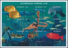 1996 Tengeri élővilág kisív Mi 3800-3808