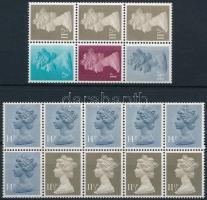 1981 II. Erzsébet királynő 2 db bélyegfüzetlap H-Blatt 95, 97 (Mi 561-562, 862-863)