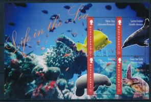 2012 Tengeri élővilág kisív Mi 1613-1616