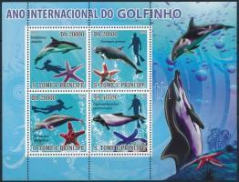 2008 Delfinek kisív Mi 3667-3670