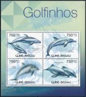Dolphins minisheet, Delfinek kisív