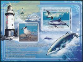 Dolphin and Bird block, Delfin és Madár blokk