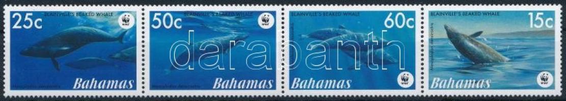 2007 WWF: Delfin sor négyescsíkban Mi 1281-1284