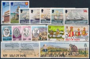 1983-1984 15 db klf bélyeg, közte teljes sorok