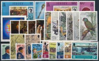 1982-1984 23 db klf bélyeg, közte teljes sorok, szelvényes értékek