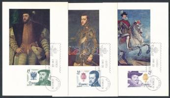 1979 Habsburg házi királyok sor Mi 2445-2448 5 db CM-en