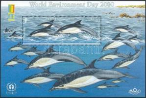 2000 Delfin blokk Mi 26