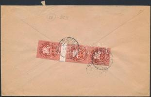 Inflation cover, (13. díjszabás) Ajánlott távolsági levél Lovasfutár 3x500eP bérmentesítéssel