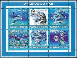 2002 Delfin kisív Mi 2692-2697