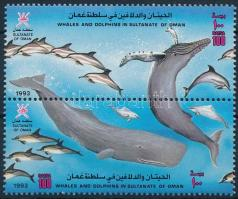Bálnák és delfinek pár Whales and dolphins pair