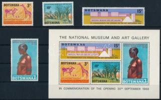 National museum, art set + block Nemzeti múzeum, művészet sor + blokk