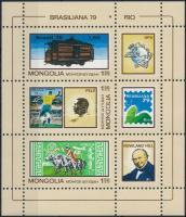 1979 Nemzetközi bélyegkiállítás, BRASILIANA blokk Mi 59