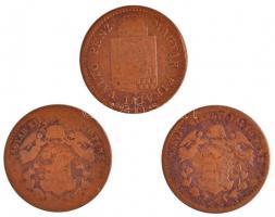1868KB 1kr Cu (2x) + 1885KB 1kr Cu T:2-,3 Adamo M4.1