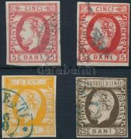 1871 Mi 26 a-b, 27-28