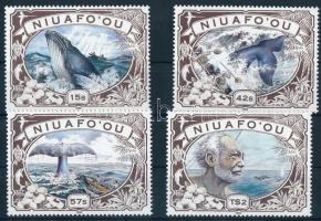 Bálnavadászat sor Whaling set