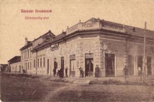 Orosháza, Vörösmarty utca, Harsányi Lajos bútorraktára, W. L. 1613.