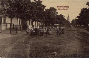 Balatonberény, utca részlet