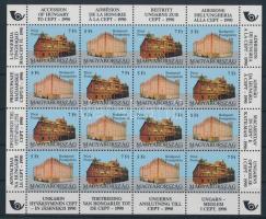 1991 Magyarország csatlakozása a CEPT-hez teljes ív (20.000) / Mi 4131-4132 complete sheet