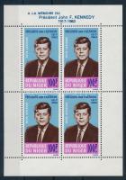 1964 Kennedy halálnak első évfordulója blokk Mi 2