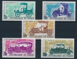 1969 Régi autók sor Mi 214-218