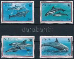 1993 WWF: Delfin sor Mi 822-825