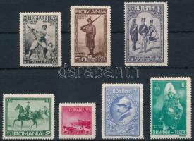 Centenary of Romanian Army set, 100 éves a román Hadsereg sor