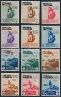 Colonial Exhibition, Naples set Gyarmati kiállítás, Nápoly sor